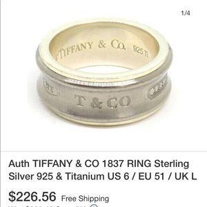 Tiffany ring.